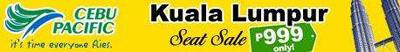 Cebu Pacific Kuala Lumpur Seat Sale