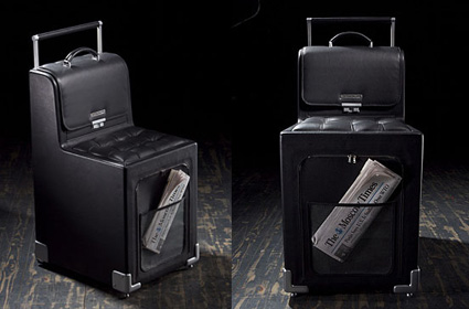 Transforming suitcases