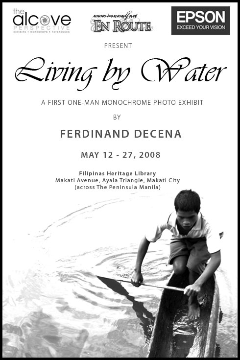 Living by Water, Ferdinand Decena's first solo exhibit at the Alcove Perspective, Filipinas Heritage Library