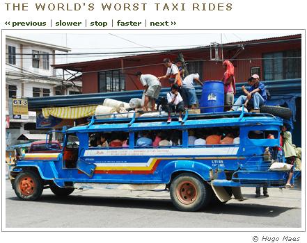 World's worst taxi rides