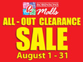 Robinsons Malls Clearance Sale