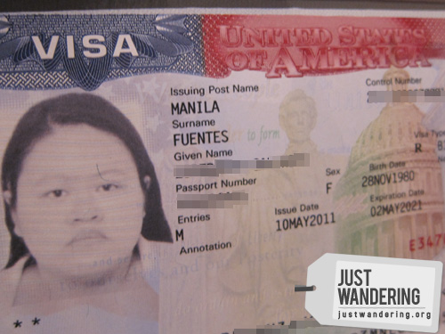 My US Visa Interview Experience | Just Wandering