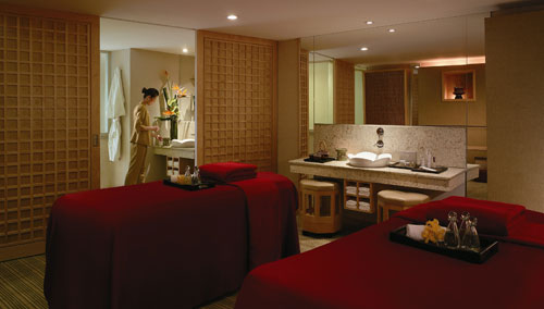 Rasa Spa, couple room