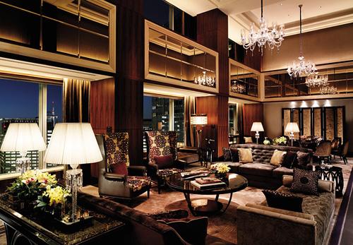 Presidential Suite, Shangri-La Hotel Tokyo