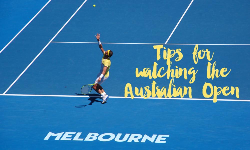 Watching the Australian Open in Melbourne