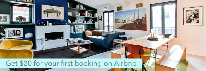 Get $20 travel credit on Airbnb